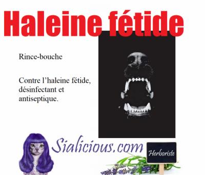 Haleine fétide