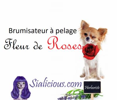 Brumisateur à pelage Fleur de Roses