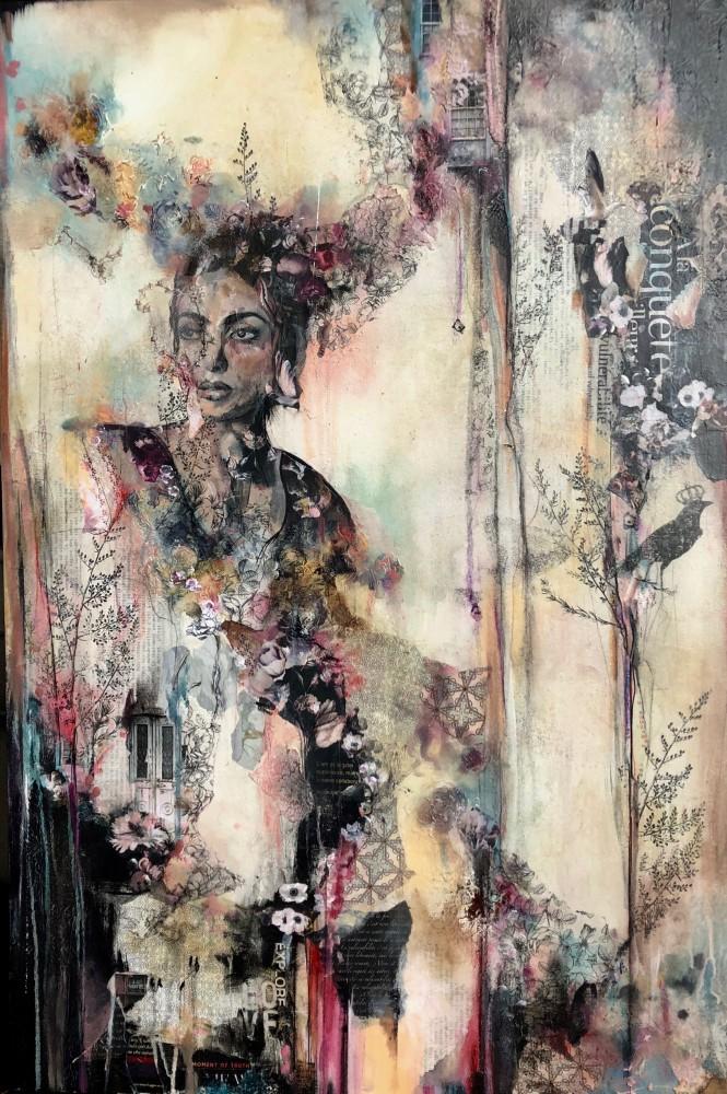 À la conquête de la vulnérabilité / peinture- oeuvre originale