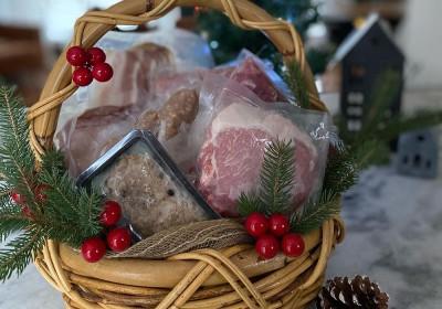 Panier découverte porc bio Ferme Villoise